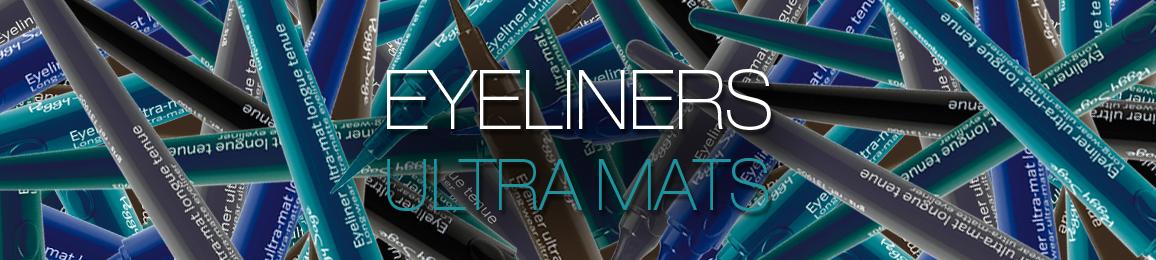 Eyliners ultra mats longue tenue
