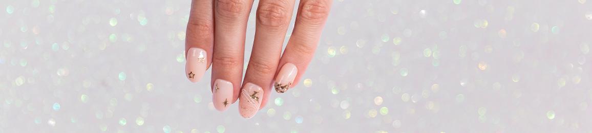 Decorative nail stickers winter 2019