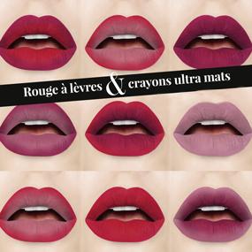 Duo Rouge à lèvres & crayons lèvres