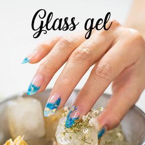 Gel UV/LED pour ongles Glass Gel