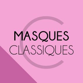 Les masques classiques