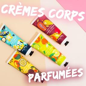 Crèmes corps parfumées