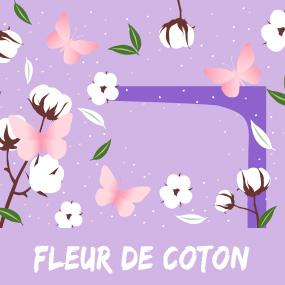Cotton flower scent escape