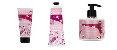 Evasion parfumée fleur de cerisier