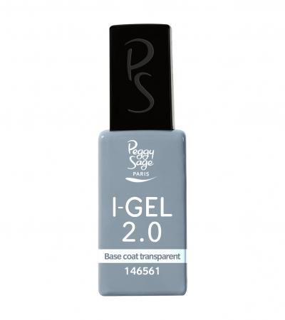 Ongles - Prothésie ongulaire - Gels - Base coat transparent UV&LED I-GEL 2.0 - Réf. 146561