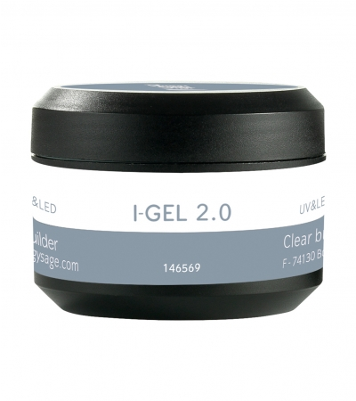 Ongles - Prothésie ongulaire - Gels - Gel de construction transparent UV&LED I-GEL 2.0 - Réf. 146569