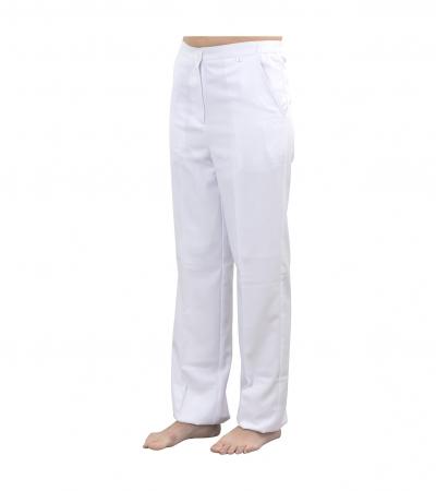 Accessoires pro - Linge - Pantalon esthétique blanc S - Réf. 160312