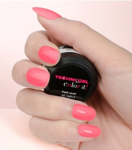 Gel de couleur pour ongles UV & LED Color it - fresh corail