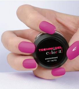 Gel de couleur pour ongles UV & LED Color it - passionnément