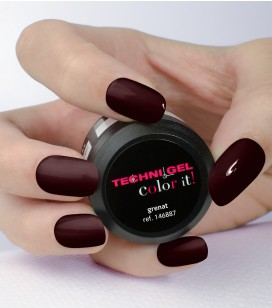 Gel de couleur pour ongles UV & LED Color it - grenat