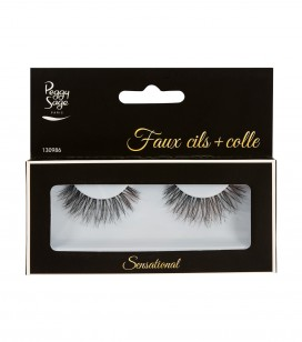 Faux cils + colle - Sensational