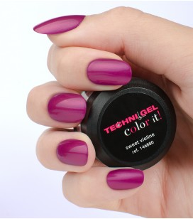 Gel de couleur pour ongles UV & LED Color it - sweet violine