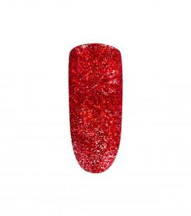 Ongles - Prothésie ongulaire - Mini vernis à ongles peel off - Vernis à ongles peel-off Red Glitter 5ml - Réf. 105155