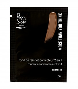 Maquillage - Teint - Fonds de teint - Echantillon -More than you think - FDT & correcteur 2 en 1 - Espresso - Réf. 810571