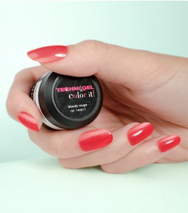 Gel de couleur pour ongles UV & LED Color it - bloody rouge