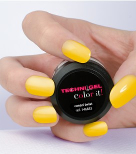 Gel de couleur pour ongles UV & LED Color it - canari twist