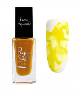 Ongles - Nail art - Encre aquarelle pour ongles - Encre aquarelle pour ongles - Yellow - Réf. 100971
