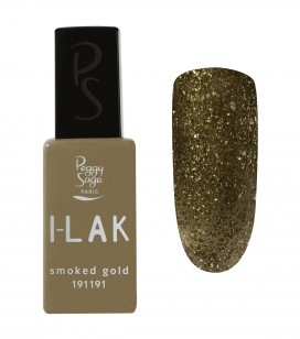 Ongles - Vernis semi-permanent - I-lak - Smoked Gold - Réf. 191191
