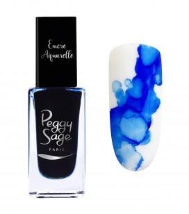Ongles - Nail art - Encres nail art - Encre aquarelle pour ongles - Blue - Réf. 100973