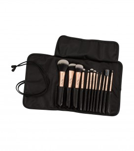 Set de 12 pinceaux maquillage