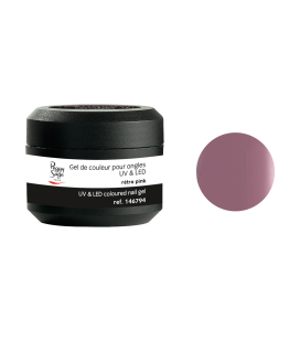 Gel de couleur pour ongles UV & LED Color it - rétro pink