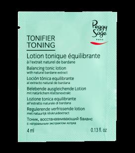 Lotion tonique équilibrante - échantillon