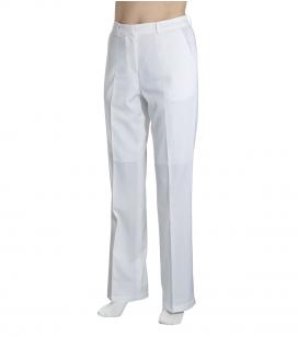 Accessoires pro - Accessoires et linge cabine - Pantalon esthétique blanc - M - Réf. 160304