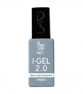 Ongles - Prothésie ongulaire - I-gel - Base coat transparent UV&LED I-GEL 2.0 - Réf. 146561