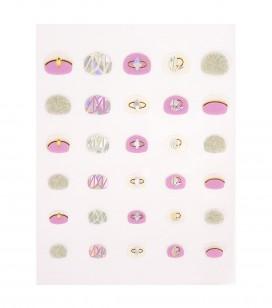 Ongles - Nail art - Décors pour ongles - Décors adhésifs kids pour ongles - Réf. 149288