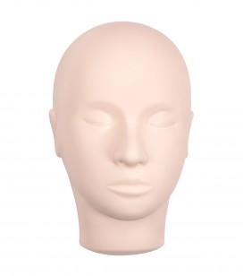 Maquillage - Yeux - Extensions de cils - Tête d'entrainement pour extensions de cils - Réf. 137200