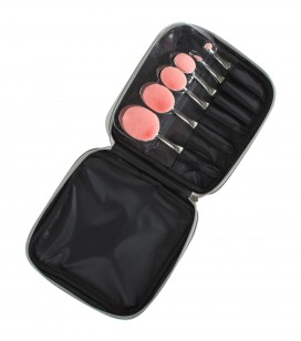 Maquillage - Accessoires - Pinceaux - Set de 6 pinceaux make-up O'brush + trousse - Réf. 135171