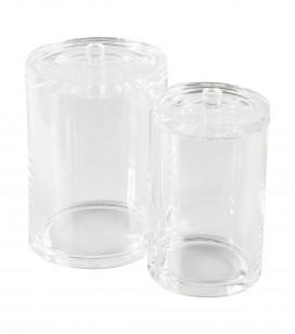 Accessoires pro - Accessoires et linge cabine - Duo 2 pots acrylique - Réf. 170232