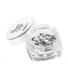 Ongles - Nail art - Décors pour ongles - Paillettes pour ongles Silver mix - Réf. 148362