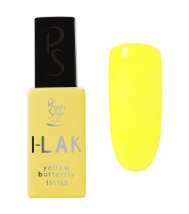 Ongles - Vernis semi-permanent - I-lak - Yellow butterfly - Réf. 191168