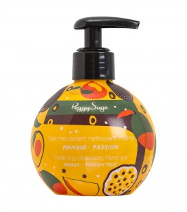 Gel moussant nettoyant mains mangue passion