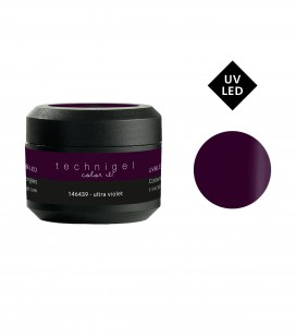 Gel de couleur pour ongles UV & LED Color it - ultra violet