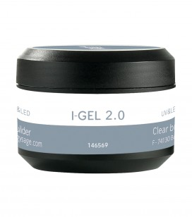 Ongles - Prothésie ongulaire - I-gel - Gel de construction transparent UV&LED I-GEL 2.0 - Réf. 146569
