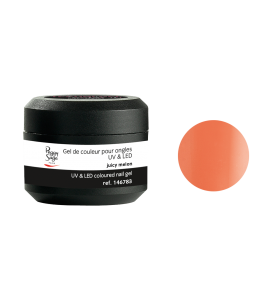 Gel de couleur pour ongles UV & LED Color it - juicy melon
