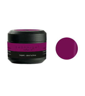 Gel de couleur pour ongles UV & LED Color it - dark fuchsia
