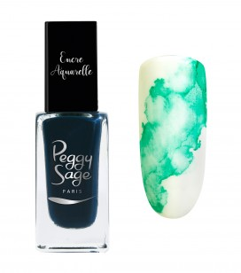 Ongles - Nail art - Encres nail art - Encre aquarelle pour ongles - Green - Réf. 100972