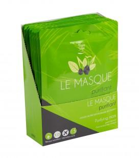 Accessoires pro - Présentoirs - Présentoir 15 maques purifiant - Réf. 401297