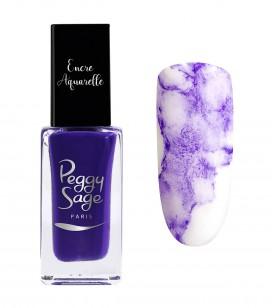 Ongles - Nail art - Encres nail art - Encre aquarelle pour ongles - Lila - Réf. 100975