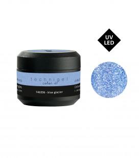 Ongles - Prothésie ongulaire - Gels - Gel de couleur pour ongles UV & LED  - Blue Glacier - Réf. 146336