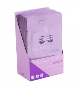 Accessoires pro - Présentoirs - Présentoir 15 patchs yeux jeunesse - Réf. 400147