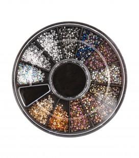 Ongles - Nail art - Décors pour ongles - Carrousel décors pour ongles - Micro Diamond - Réf. 149977