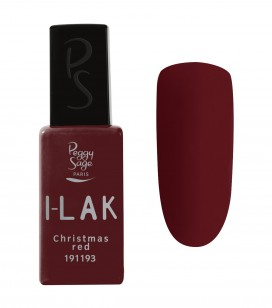 Ongles - Vernis semi-permanent - I-lak - Christmas Red - Réf. 191193