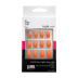 Ongles - Prothésie ongulaire - Faux ongles - Kit 24 faux ongles Idyllic nails - Coral stiletto - Réf. 150058
