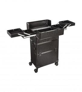 Make-up - Accessoires - Taschen und koffer - Studio professionele trolley koffer - black glitter - REF. 201203