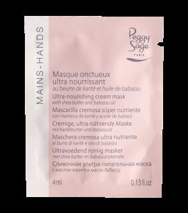 Lichaamsverzorging - Handverzorging - Warme manicure - Ultravoedend romig masker - met shea butter en babassunotenolie -  miniatuurtje - REF. 120781