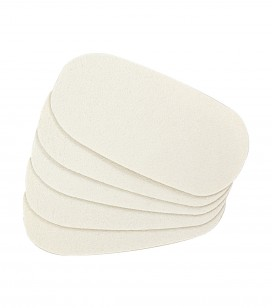 Lichaamsverzorging - Voetverzorging - Anti-eeltverzorging - 5 zelfklevende strips voor gladmakende rasp - REF. 550441